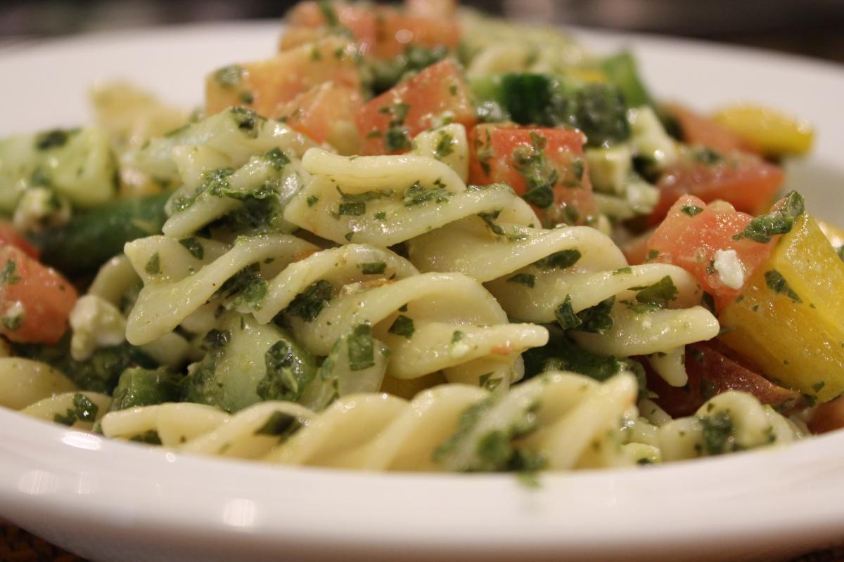 Italian Pasta Salad America S Test Kitchen Los Molcajetes